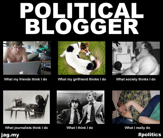 What political bloggers really do, and how the world sees